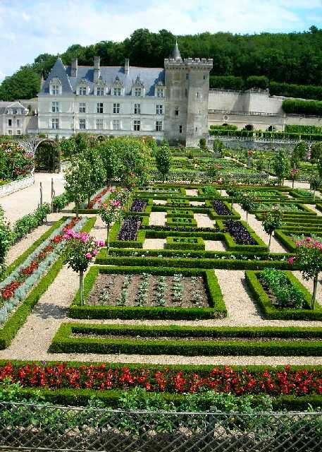 Château Villandry and gardens ~ Loire Valley; France.