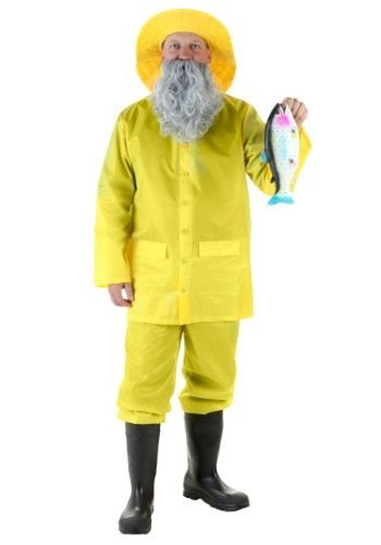 Cast your line and reel in this Adult Fisherman Costume! You're sure to catch lots of great compliments in this funny costume!