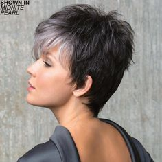 Prom Hairstyles For Short Hair   Hairdo   Pixie Cut With Short Fringe 20190824 - August 24 2019 at 08:47PM