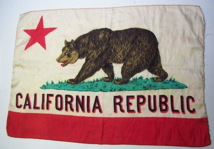 cotton california flag