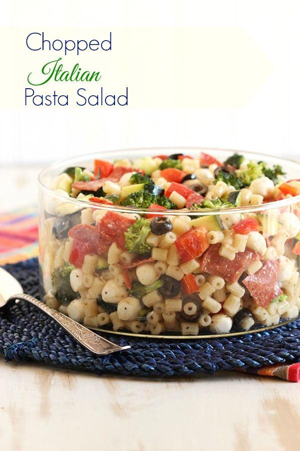 Chopped Italian Pasta Salad