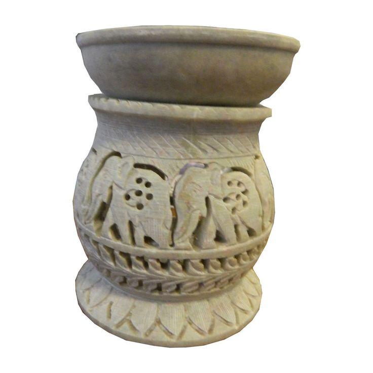 Duftlampe 13cm Elefanten Bauchförmig Dekoration Aromalampe