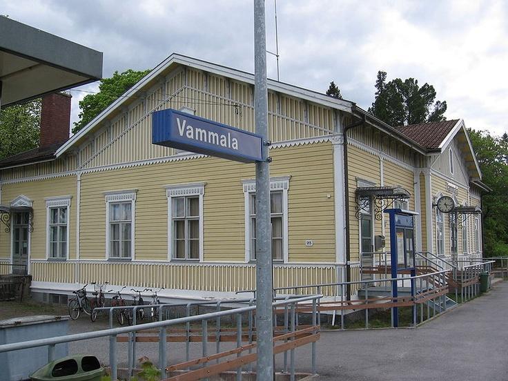 Vammala Railwaystation.