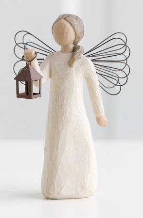 Willow Tree Angel of Hope (with lantern) (Have)