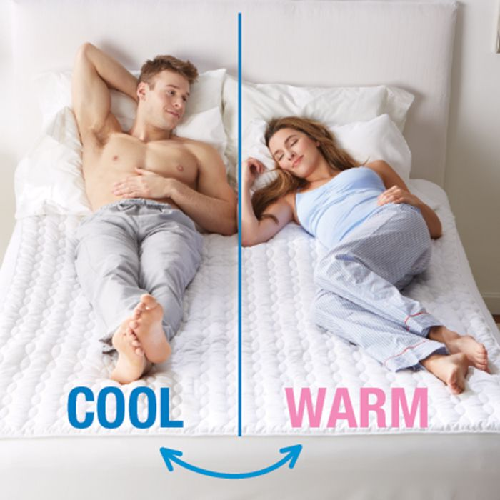 <ul><li>Cools & warms your bed just the way you like it</li><li> Single-zone or dual-zone for sleep partners</li><li> Adjustable between 46° F and 118° F</li><li> Uses just 80W of power on average</ul>