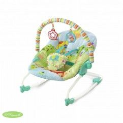 Hamaca Bright Start snuggle jungle #tiendaonline #bebe #donbenito #hamaca