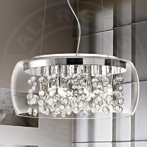 MIA-A43N-Glas-Kugel-Haenge-Leuchte-400mm-Design-Chrom-Pendel-Lampe-Hoehenverst