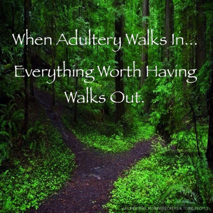 When Adultery Walks In... Everything Worth Having Walks Out. #homewrecker #cheating #affair  -Inspiration credit to HOMEWRECKER Alla Hayes (Western Australia), for luring my husband through messenger to a one night stand.