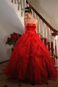 42 best Red and black wedding dresses images on Pinterest | Prom ...