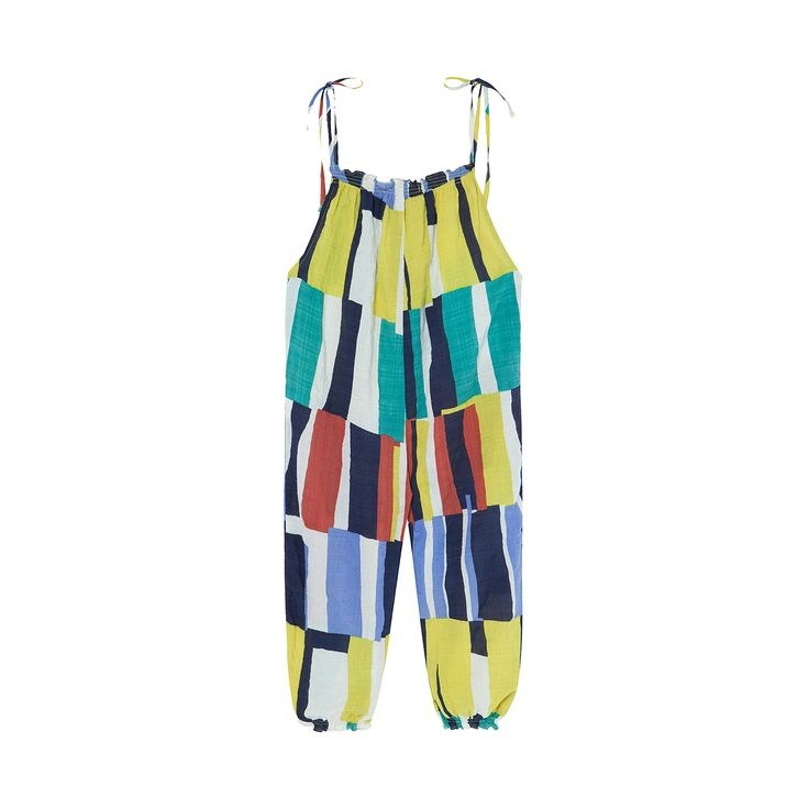 Benebene Smocking jumpsuit (2 colours)