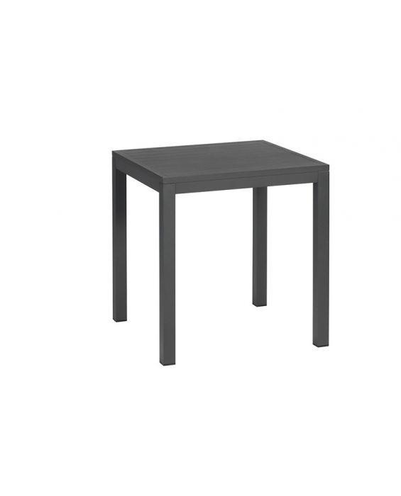 Exotan Venice tafel 90x90cm - mat dark grey