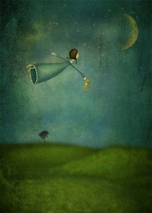 Fly me to the moon......Maja Lindberg