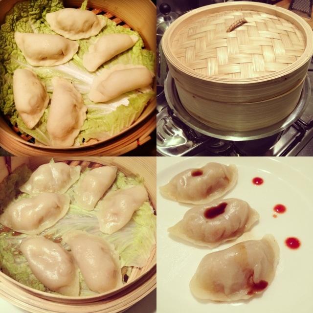 ravioli di gamberi cinesi