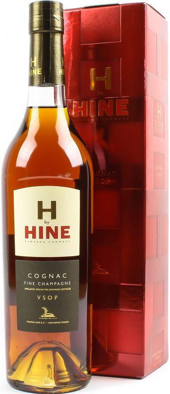 Hine VSOP Cognac. Die Hine Distillery versuchte immer den besten Cognac herzustellen und die Kellergebäude lieber klein aber fein zu halten - Sehr preiswert