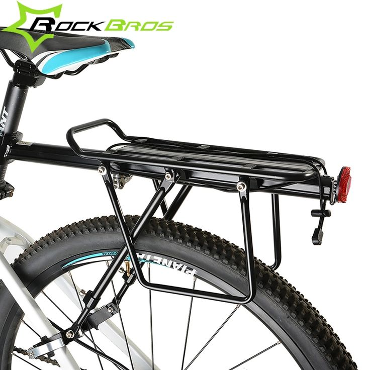 52.24$  Buy here  - ROCKBROS MTB Mountian Bicycle Rear Rack Alloy Back Seat Quick Release Bike Carrier Holder Riding Bike Travel Luggage Rack