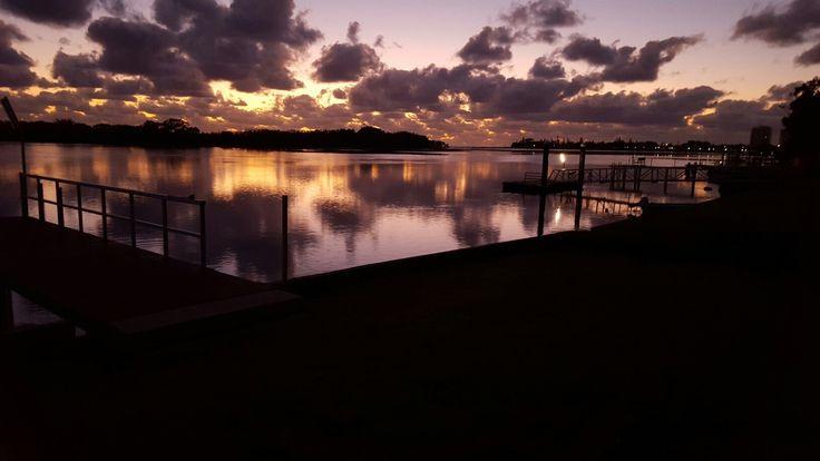 Maroochydore river . Morning