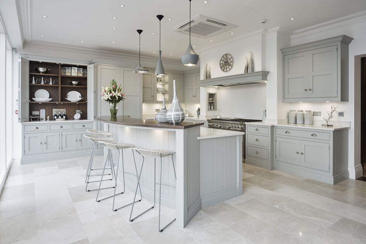 Grey Family Kitchen