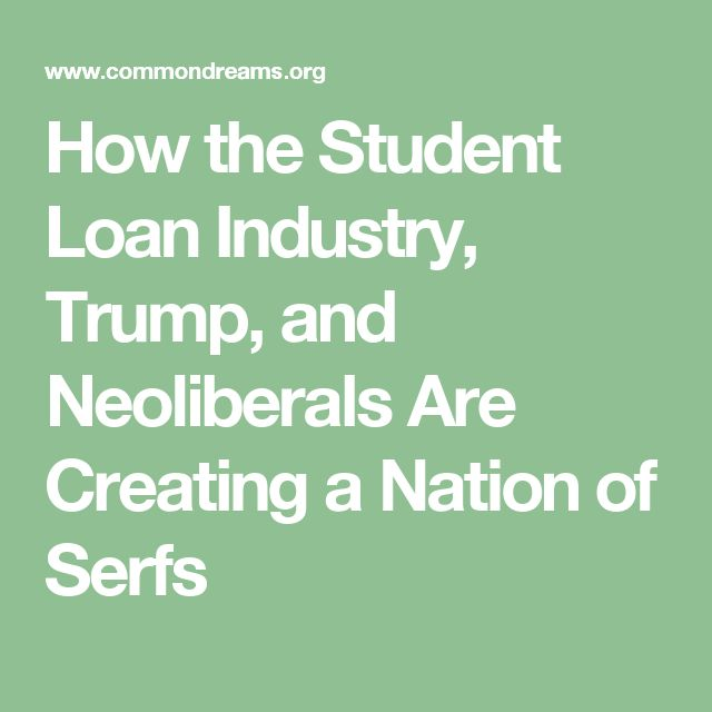 the untold story of student loan debt in the United States is that it is being used as a form of economic terrorism designed to not only redistribute wealth from everyday Americans to the elite, but also to undermine and degrade American democracy as a whole.