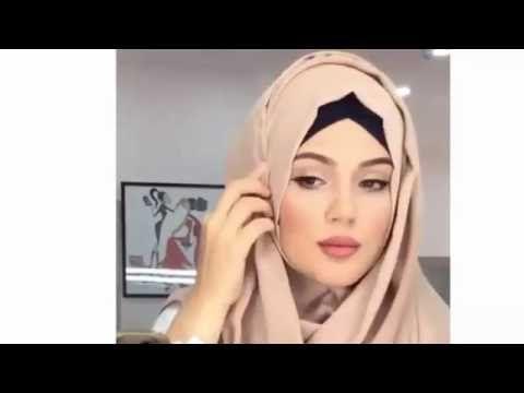 hijab tutorial everyday & simple hijab 2016 لفات حجاب يومية بسيطة -2-