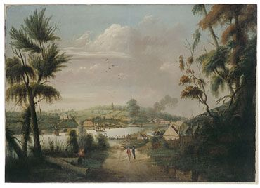 A Direct North General View of Sydney Cove 1794