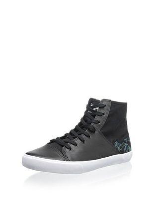 50% OFF Generic Surplus Men's Harrington Mission High-Top Sneaker (Black)
