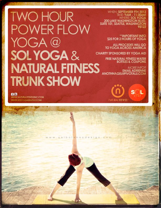 18 Best Yoga Flyers Images On Pinterest | Flyers, Flyer Design And