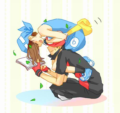 Ruby and Sapphire, oh my golly so cute!