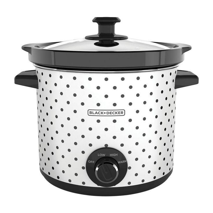 4-Quart Slow Cooker, $30 at Black   Decker
