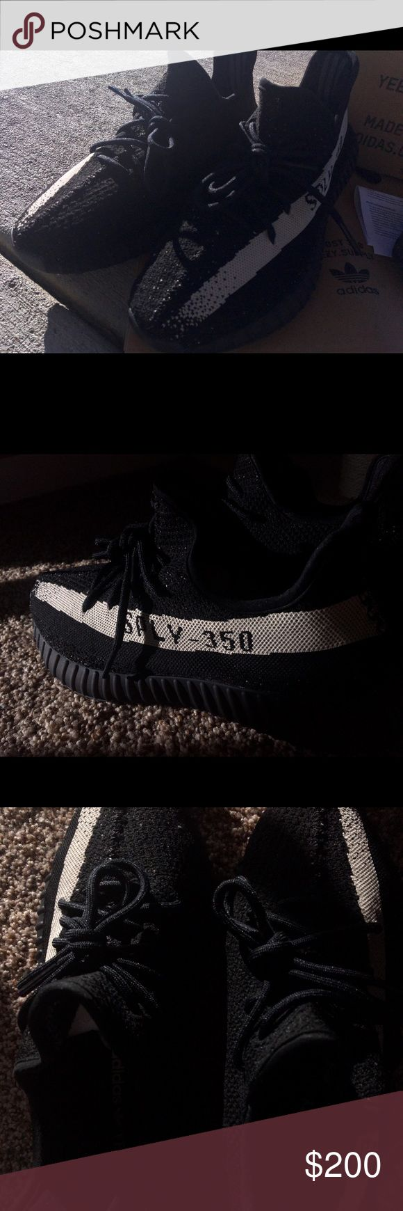 SPLY-350 'Oreos' UA Yeezy Boost 350v2 'Oreo' in perfect condition!  Buy now for a deducted price! Yeezy Shoes Sneakers