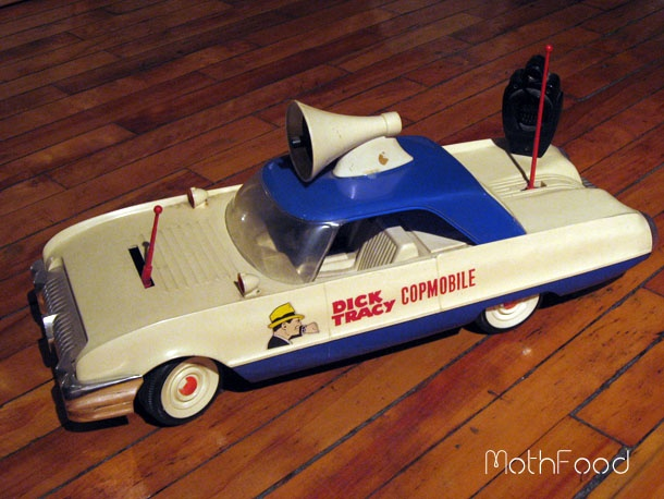 Dick Tracy Toy Car 54