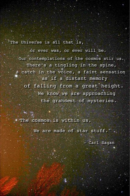 We are made of star stuff by ShaneEaston, via Flickr