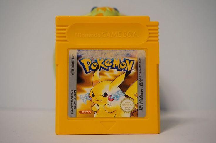 Pokemon Yellow version game boy color gbc (NEW BATTERY), English version 4471