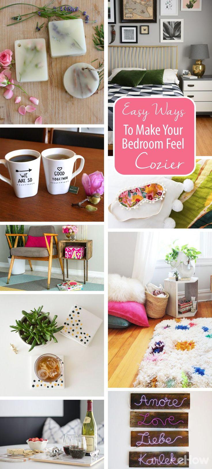 10 Easy Ways To Make Your Bedroom Feel Even Cozier