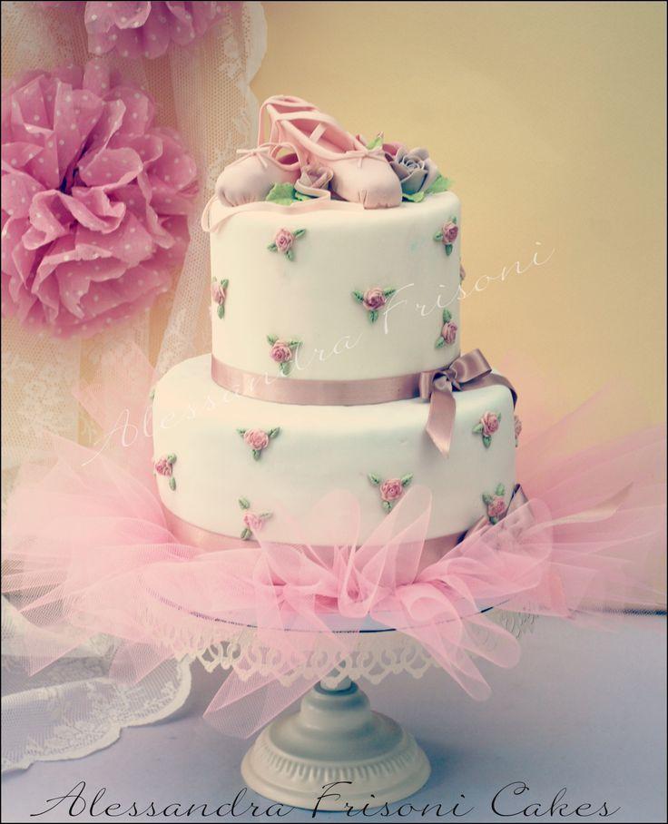Ballet Cake . Frisoni Alessandra Cakes.