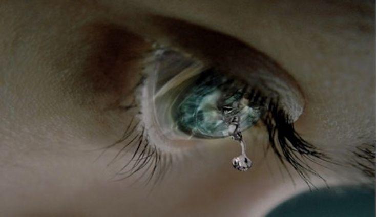 Come sono fatte le lacrime.