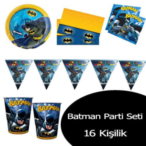 Batman Doğum Günü Seti (16 Kişilik)