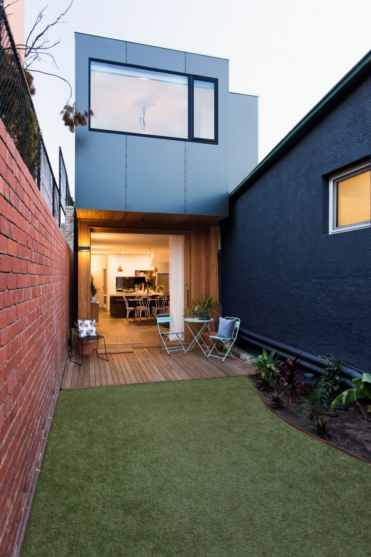 Prefab Collingwood House by ArchiBlox (via Lunchbox Architect) located in Collingwood, Melbourne, Victoria, Australia