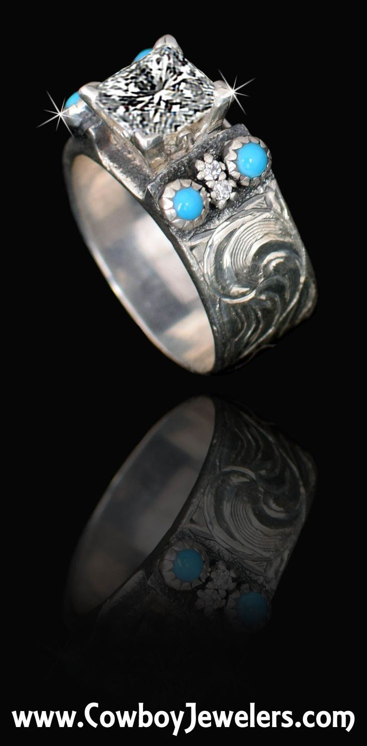 5130 custom made 10mm wide band made and sold online by CowboyJewelers.com Shown…