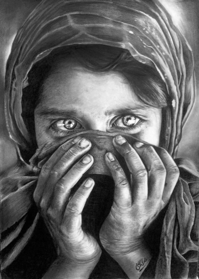 Drawing pencil by Adel Elliethy