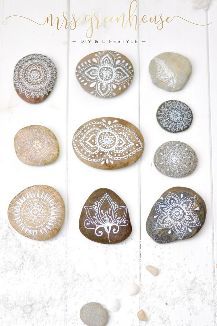 Urlaub in Dänemark und feine Mandalas auf Steinen   – Mrs Greenhouse DIY –  mein Blog