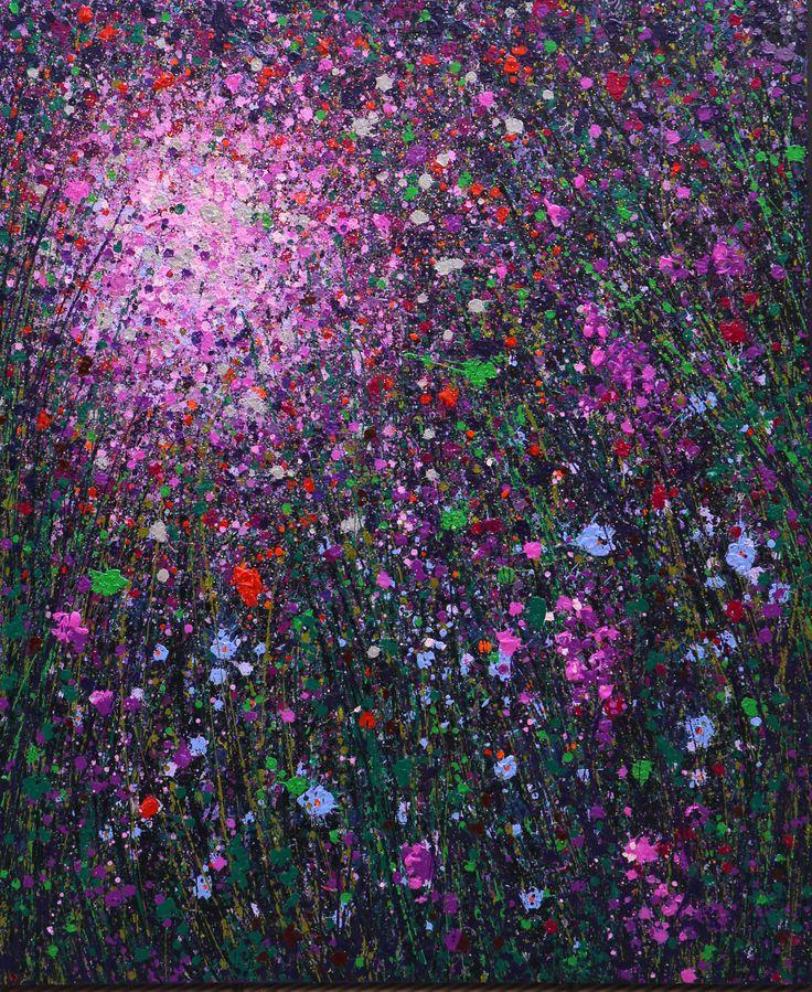 Dreamscape No 0102, oil on canvas, 120 x 100 cm, 2014