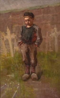 Jozef Israëls - Vader's graf