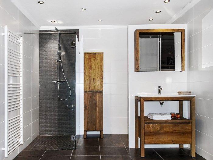 25 beste idee n over kleine landelijke badkamers op pinterest landelijke badkamer decoraties - Deco van badkamer design ...
