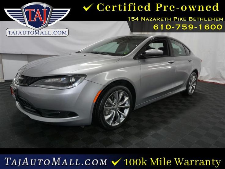 2016 Chrysler 200 S Chrysler 200, Honda accord sport