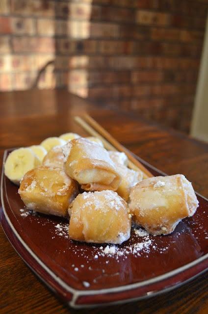Gormandize: Num Chet Chien (Banana Nuggets!) - tasty way to deep fry bananas!