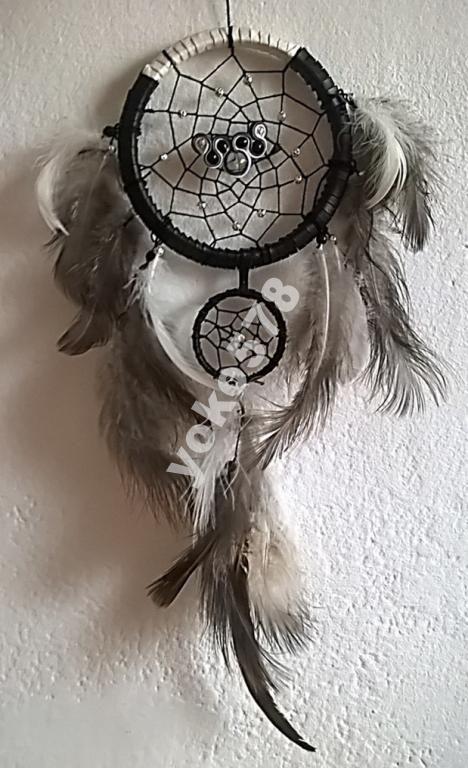 Łapacz snów dreamcatcher amulet talizman 35cm