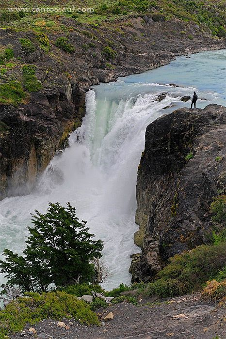 Salto Grande, Torres del Paine National Park, Patagonia, Chile