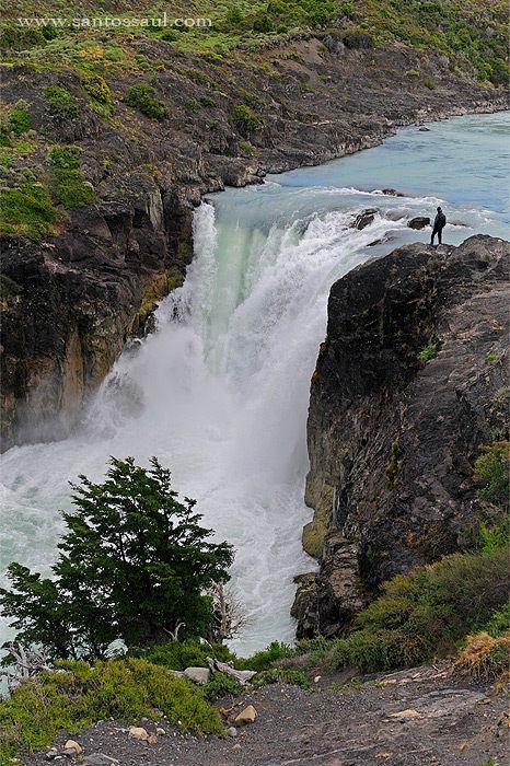 Salto Grande, Torres del Paine National Park, Patagonia, Chile