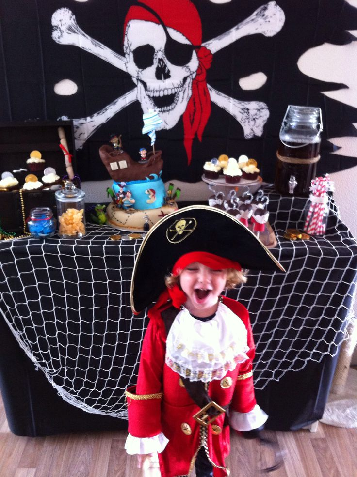 Liam's pirate party