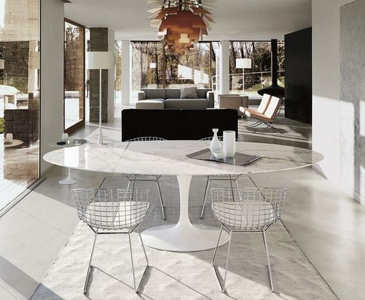 17 Best Ideas About Saarinen Table On Pinterest Tulip